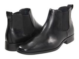 11.5 CALVIN KLEIN Garrison Leather Mens Boot! Blowout! Sale! $79.99 LastPair! - $74.79