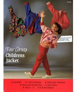 Four Corners Childrens Jacket Sewing Pattern Reversible 3 Styles Sizes 6 - 14 - $4.49