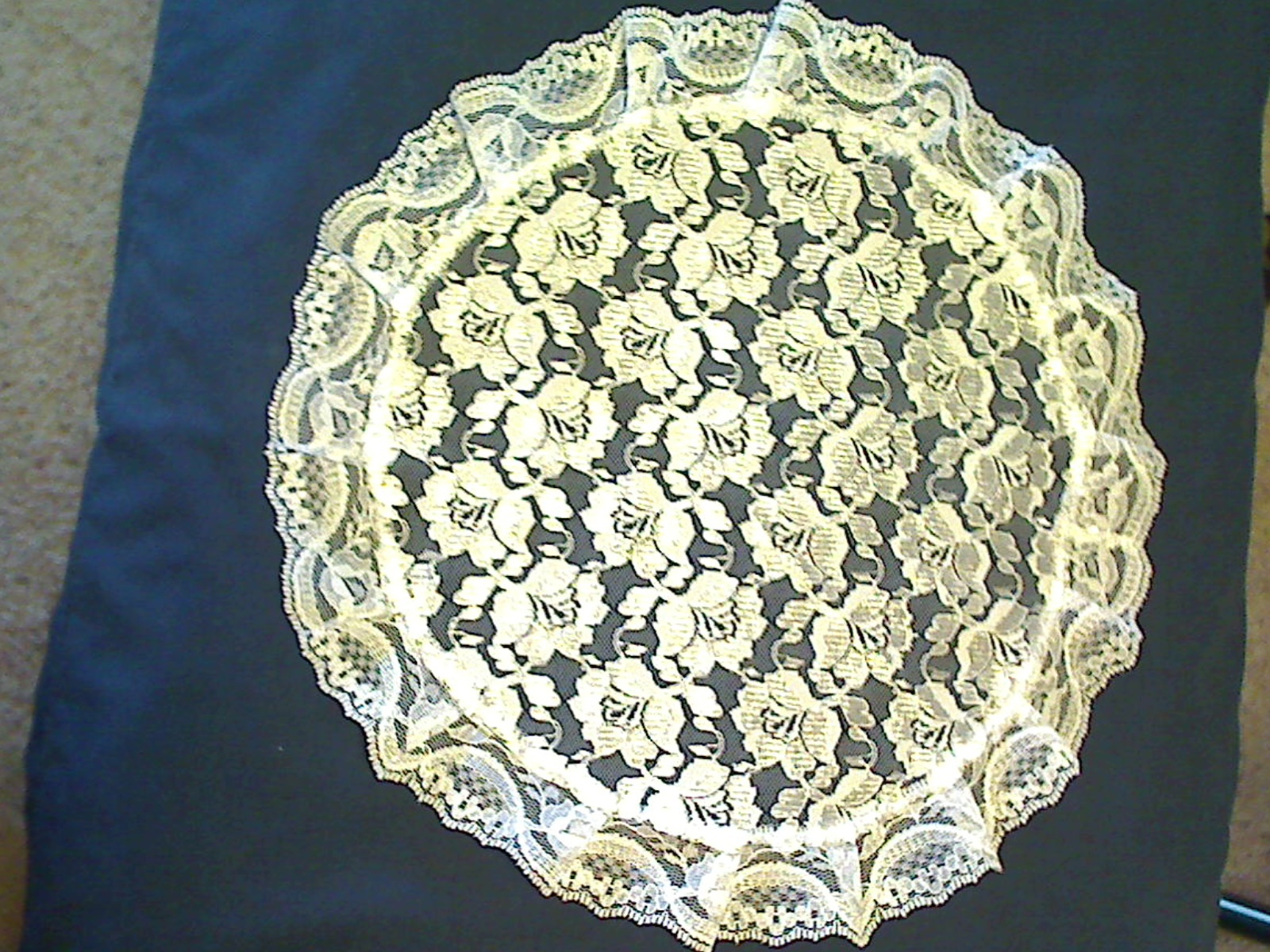 Primary image for Chapel Veil - Round - White - V-40