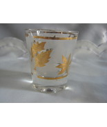 gold leaf shot glass - $5.00