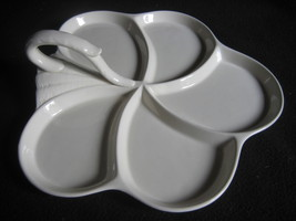 spode platter with handle made in england - $70.00
