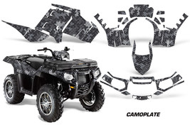 Polaris Sportsman 850 AMR Racing Graphic Kit Wrap Quad Decal ATV 11-13 C... - $267.25
