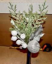Flowers Silver Fake Picks Autumn Bouquet You Choose Mix Ashland Floral 2... - $4.49+