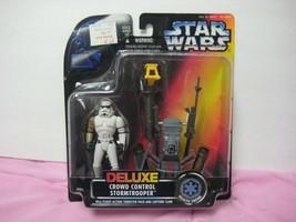 STAR WARS DELUXE CROWD CONTROL STORMTROOPER - $7.91