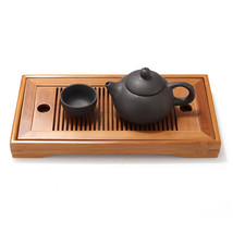 YKPuii Chinese Bamboo Classic Kung Fu Tea Set Table Serving - $35.95