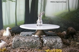 ROUND BUNNY CUPCAKE STAND -NEW- ADD SOME HOPPIN' GOOD STYLE TO YOUR SPRI... - $74.95