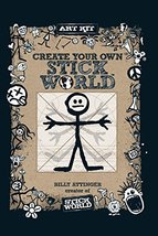Create Your Own Stick World Kit: Includes technique book, pens,  and 80 ... - $9.89