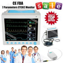 US Seller, Capnograph CO2 Patient Monitor ETCO2 Vital Signs 7 Parameters... - $1,286.01
