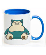Pokemon Snorlax Ceramic Coffee Mug CUP 11oz - $18.64 CAD