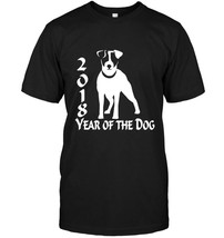 2018 Year of the Dog JRT Jack Russell Terrier Dog TShirt - $17.99+