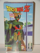 DRAGON BALL Z - Imperfect CELL - ENCOUNTER (VHS) - $15.00