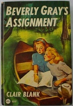 Beverly Gray's Assignment hc College Mystery Clover Books G17 Clair Blank - $8.00