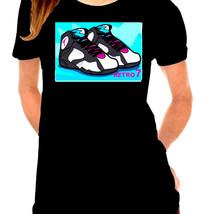 Jordan 7 (VII) Inspired Ladies T-Shirt - $12.00