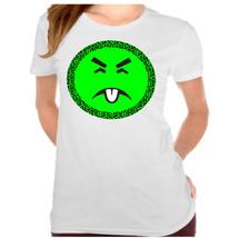 Leopard Yuck Poison Face Ladies T-Shirt - $12.00