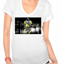 Notorious BIG King of New York Ladies V-Neck T-Shirt - $12.00