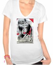 """MudHoney 1965 Retro,Stylish """"Vintage Look"""" Inspired Ladies V-Neck T-Shirt - $12.00"""