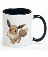 Pokemon Eevee Ceramic Coffee Mug CUP 11oz - $18.64 CAD
