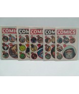 WEDNESDAY COMICS - 1 - 5 - DC COMICS - FREE SHIPPING - $11.30