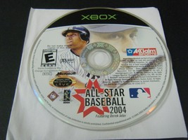 All-Star Baseball 2004 (Microsoft Xbox, 2003) - Disc Only!!!! - $4.01