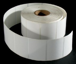 PLAIN LABELS FOR SCALE PRINTERS, 1500 LABELS ROLL/10 PK - $118.75