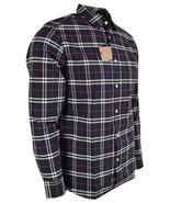 New Burberry Brit Men's GEORGE Navy Nova Check Cotton Long Sleeve Shirt S - $216.81