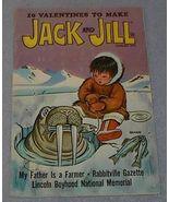 Jack and Jill February 1971 Children' Magazine Valentines - $5.00