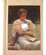 "Journal, Diary ""Girl Reading"" Marcel Schurman C... - $9.99"