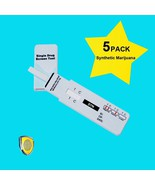 5 Pack Spice Drug Test Easy Use - Instant K2 - Rapid Synthetic Marijuana... - $18.36