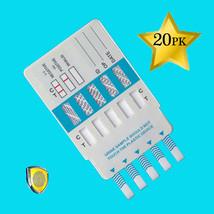 20 of 10 Panel Drug Testing Kit - Drug Test 10 Drugs THC OPI COC AMP BAR & more - $72.69
