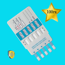 GREAT DEAL! 100 Pack of Instant 10-Panel Drug Testing Kits - FDA Cleared - $368.23