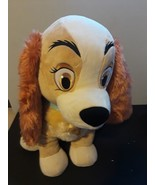 "Disney Store Lady Dog Plush Stuffed Animal Exclusive Jumbo Big 21"" Tall ... - $89.05"