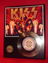 KISS LTD EDITION GOLD 45 RECORD DISPLAY - $89.95