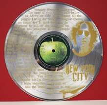 "John Lennon Imagine Laser Etched LTD Edition 12"" LP Record Wall Display - $63.96"