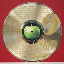 "John Lennon Imagine Gold Laser Etched  12"" LP Wall Display - $63.96"