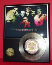 N SYNC GOLD 45 RECORD LIMITED EDITION DISPLAY - $90.95