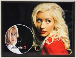 CHRISTINA AGUILERA LTD EDITION PICTURE CD POSTER DISPLAY SHIPS U.S. FREE - $60.95