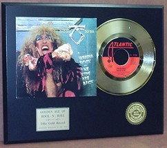 TWISTED SISTER  24kt GOLD 45 RECORD LTD EDTION / 600 ARTIST'S IN EBAY STORE - $90.95