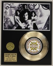 "LED ZEPPELIN ""STAIRWAY"" GOLD RECORD LTD EDITION LASER ETCHED WITH SONG'S... - $88.15"