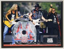 LYNYRD SKYNRYD LTD EDITION PICTURE CD POSTER DISPLAY SHIPS U.S. FREE - $60.95