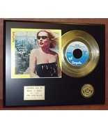 BLONDIE DEBBIE HARRY 24KT GOLD 45 RECORD LTD EDITION DISPLAY  FREE SHIPPING - $90.95