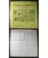 Folk on Friday 1970 uk BBC LP ROBIN & BARRY DRANSFIELD - $19.99