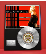 BLONDIE  PLATINUM RECORD LIMITED EDITION RARE GIFT COLLECTIBLE MUSIC AWARD - $90.95