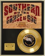 LYNYRD SKYNYRD LTD EDITION CONCERT POSTER SERIES GOLD 45 DISPLAY - $88.15