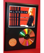 BLONDIE 24kt GOLD CD DISC COLLECTIBLE RARE AWARD QUALITY PLAQUE XMAS GIFT - $60.95