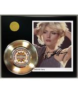 DEBORAH HARRY GOLD 45 RECORD SIGNATURE SERIES LTD EDITION  FREE US SHIPPING - $90.95