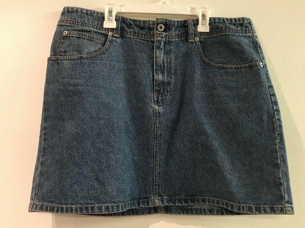 """GAP women's  Blue Denim Skirt pencil Skirt 100% Cotton 18"""" Length 36"""" Waist - $16.95"""
