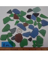 Free Form Glass Components ~ Semi-Tumbled ~ Flat for Mosaics ~ Sea Glass... - $8.31+
