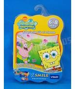 V Tech V Smile A Day in the Life of a Sponge Bob Smartridge Cartridge New - $8.90