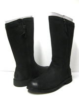 UGG ELLY WOMEN TALL BOOTS LEATHER BLACK US 10.5 / UK 9 /EU 41.5 - $128.69