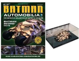 Automobilia #81 ~ Batman Begins Movie Tumbler Camouflage Camo Batmobile - $35.63